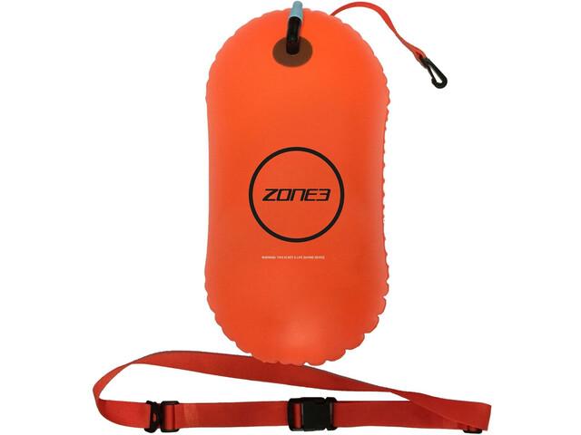 Zone3 Swim Safety Buoy 28l neon orange